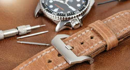 Cleaning Leather Watch Straps