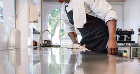 What are the Steps Included In Kitchen Cleaning