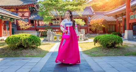 How to Clasp Or Tie The Hanbok
