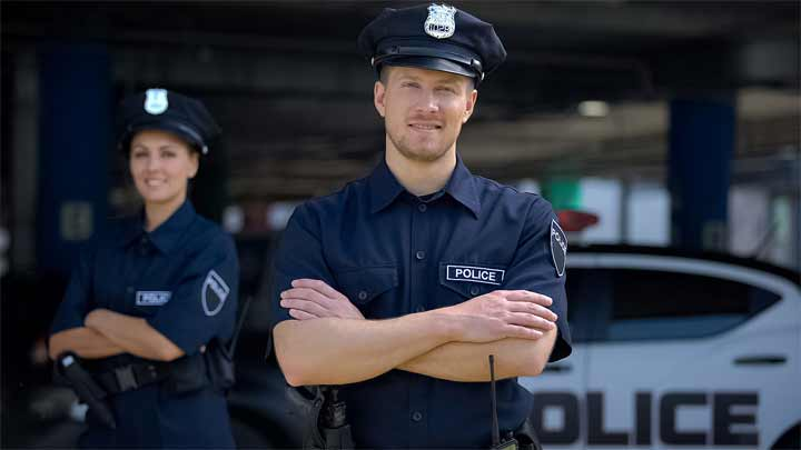 How do you Thank the Police Officer