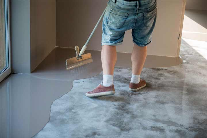 How to Mix Self-Leveling Concrete