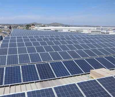 Voltage of Solar board