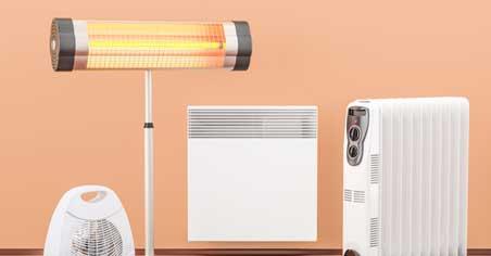 Fan Heater On