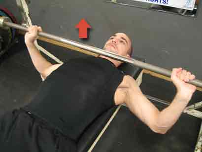 Working of bench press calculator