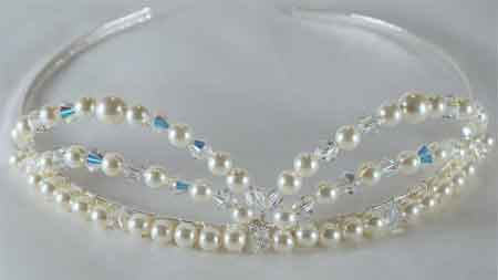 Materials for a Macrame Bracelet