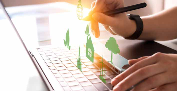 Green it and Document Software - the Awakening of Ecological Awareness in Businesses